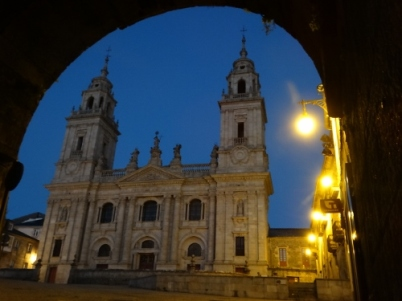 View of the Cathedral from Porta Santiago