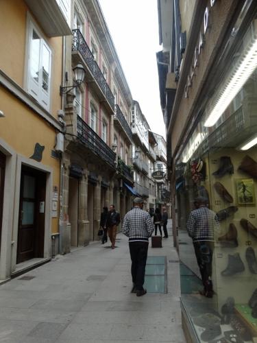 Paved street of Lugo