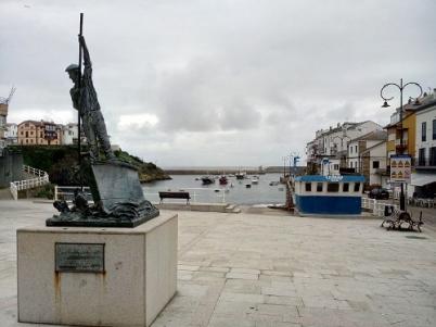 Fishing port in Tapia