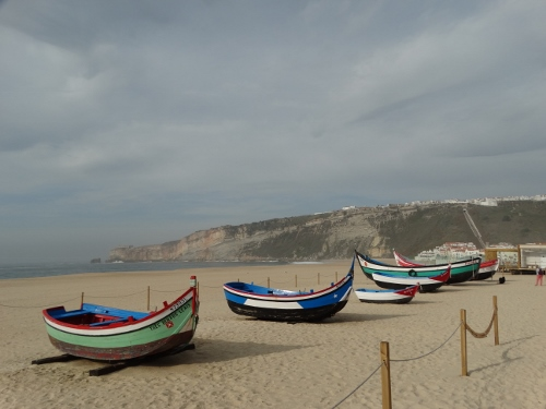 Traditional boats of Nazare