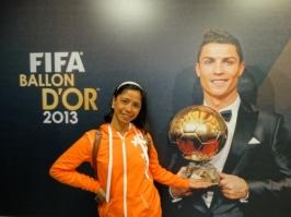 With Ronaldo