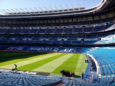 Gigantic football field