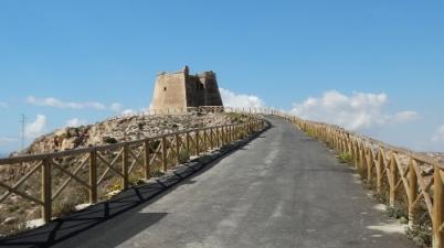 The tower of Mesa Roldan