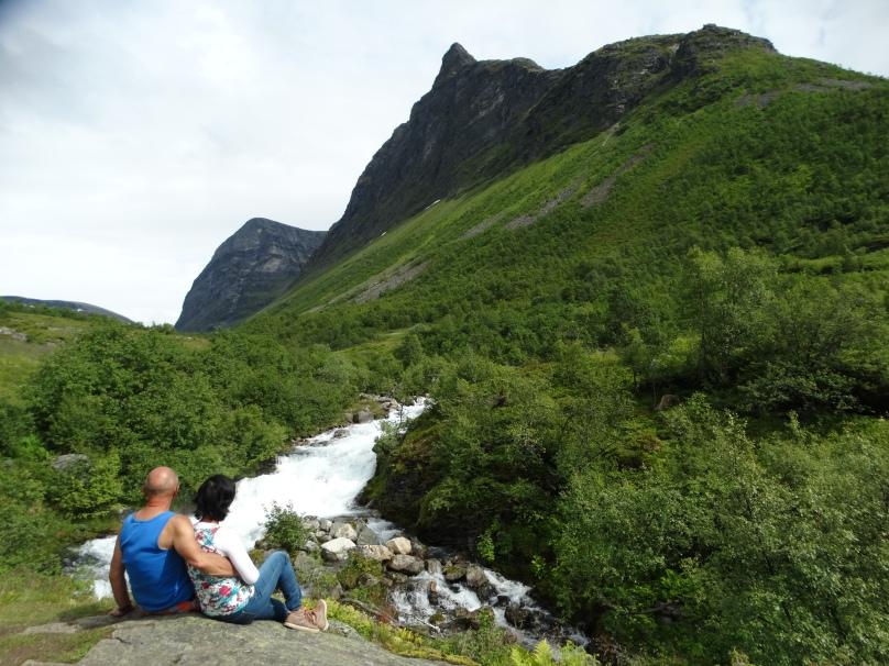 Storseterfossen waterfalls