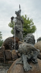 King Wotan at the Fountain of Wisdom