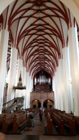 Church's nave