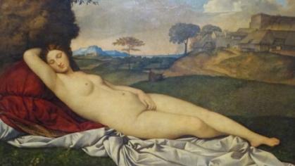 Giorgione, Sleeping Venus