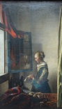 Jan Vermeer, Girl reading a Letter by an Open Window